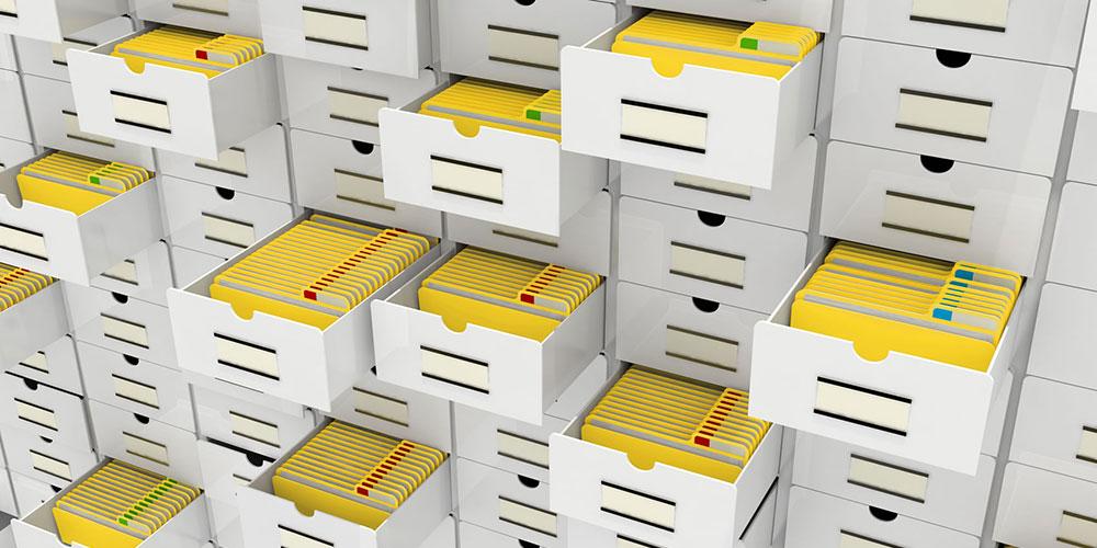 Quản lý hồ sơ sắp xếp giấy tờ là công việc nhân viên hành chính phải làm