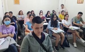 Hình ảnh lớp học nghiệp vụ xuất nhập khâu tại VinaTrain ở Hồ Chí Minh ( nguồn: VinaTrain)