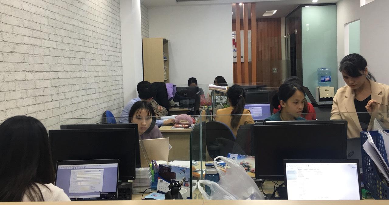 Hình ảnh đào tạo trực tiếp của trung tâm VinaTrain