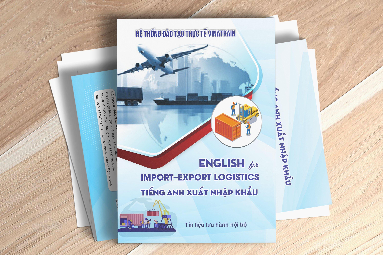 Đăng ký khóa học mua hàng tại VinaTrain bạn sẽ được tặng thêm sách tiếng anh xuất nhập khẩu